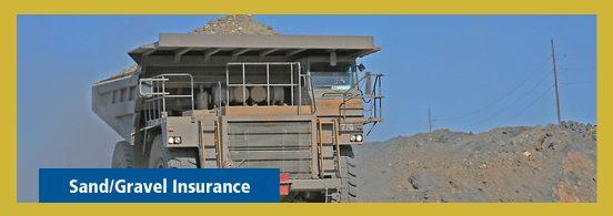 Sand/Gravel Insurance